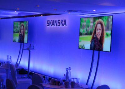 lighting options for skansa event